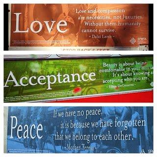 Love, Acceptance, Peace 1